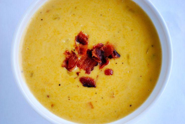 Cheddar Ale Soup | Soup-er Bowls! | Pinterest