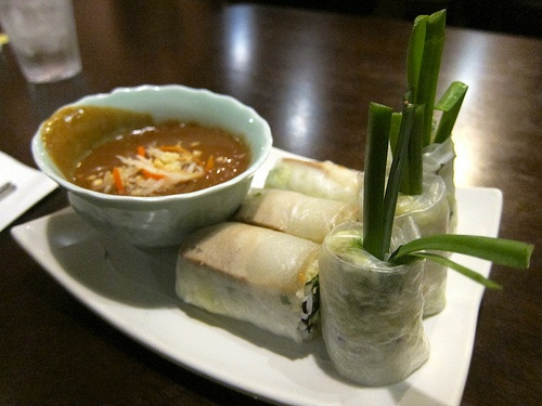 Bi Cuon Chay (Vietnamese Vegetarian Spring Rolls)
