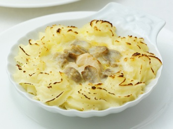 Overloaded Coquille St-Jacques Made Healthy Recipes — Dishmaps