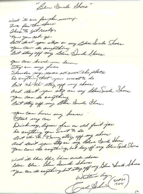 blue suede shoes lyrics #kingelvis