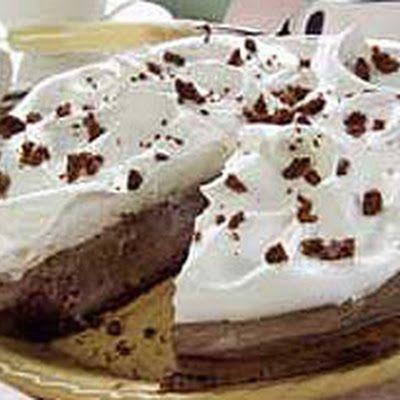 Mile-High Fudge Brownie Pie | food | Pinterest