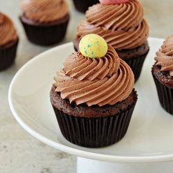 chocolate malt cupcakes | Food! | Pinterest