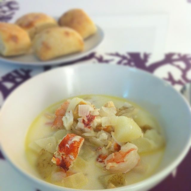 Fish Chowder II Recipe — Dishmaps