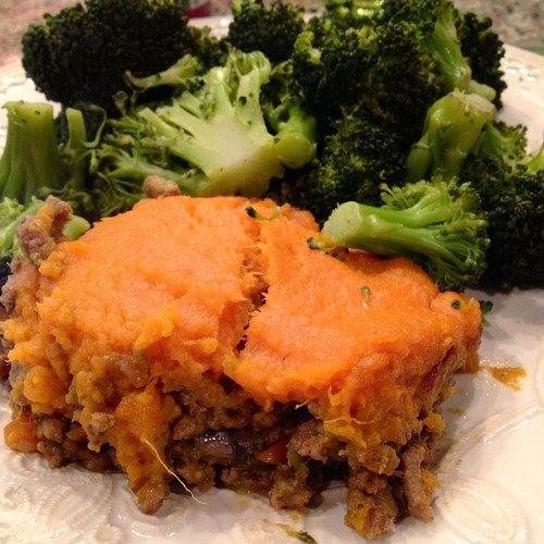 Sweet potato ground turkey shepards pie | Healthy eating | Pinterest