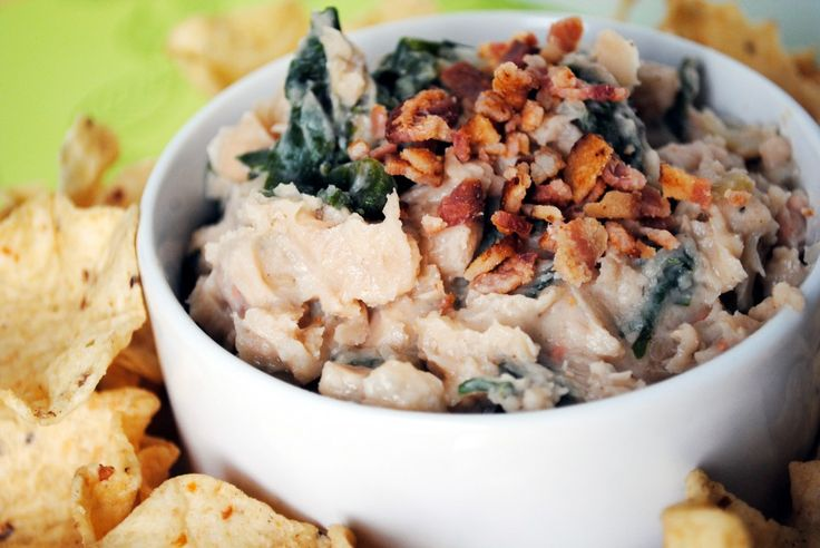 Bean, Bacon and Kale Dip | Buffin' Out | Pinterest