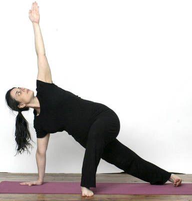 Side plank variations for pregnancy.