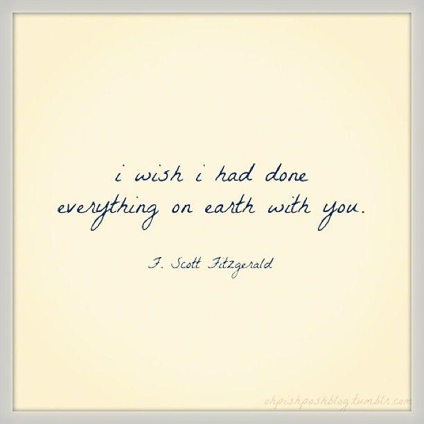 F Scott Fitzgerald Quotes About Love : Scott Fitzgerald Love Quotes. QuotesGram