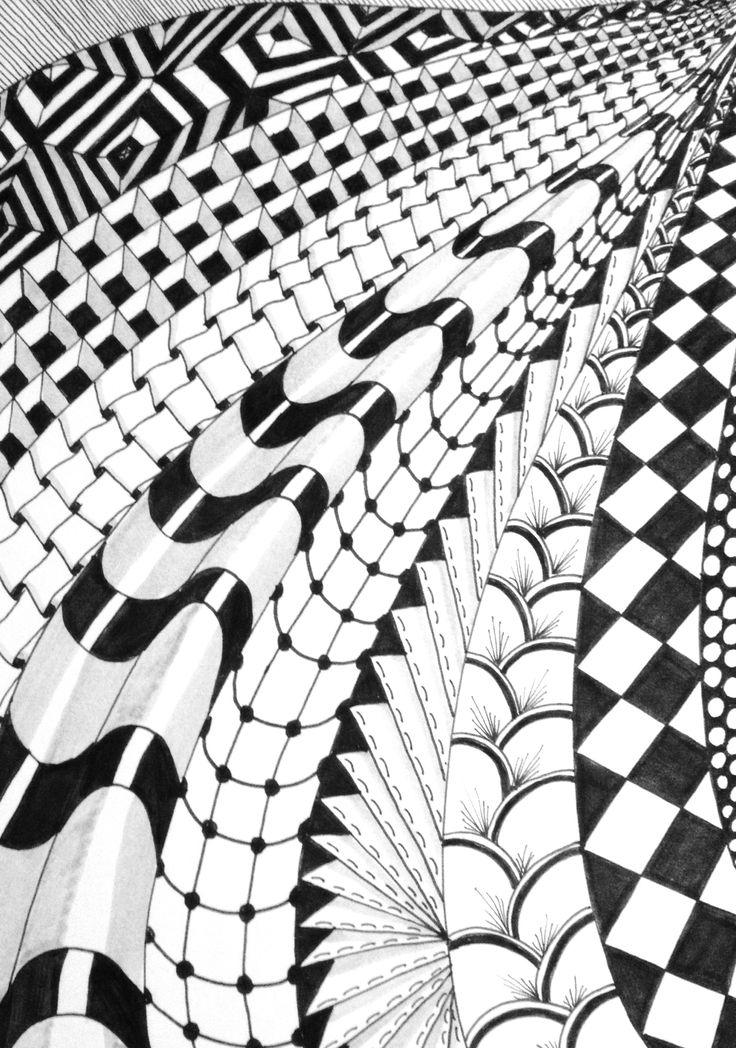 Line Drawing Zentangle : Zentangle doodle zentangles pinterest