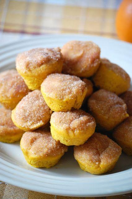 Mini Pumpkin Muffins | Breakfast | Pinterest