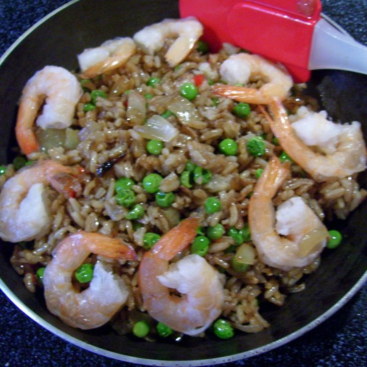Chinese Shrimp Fried rice By freda Recipe | Just A Pinch Recipes