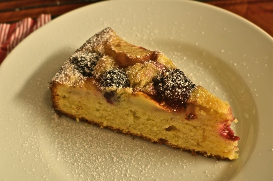 Blackberry Peach Tea Cake | Recipes to Try (Desserts and Baking) | Pi ...