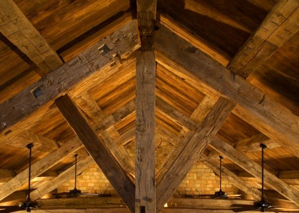 Reclaimed Hand Hewn Timber Beams For The Home Pinterest