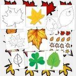 Llega el otoño. Hojas para colorear y decorar - Escuela en la nube | Recursos para Infantil y Primaria