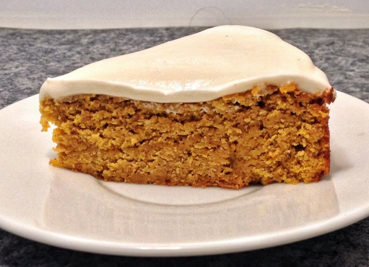 Mummy Made It: Pumpkin Spice Cake with Honey Frosting