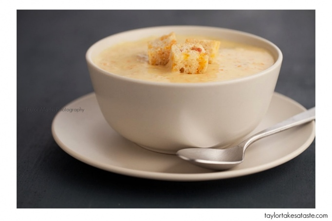 Beer Bacon and Cheese Soup | Yummy | Pinterest