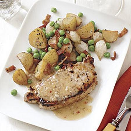 Roasted Cauliflower Alfredo With Peas Recipes — Dishmaps