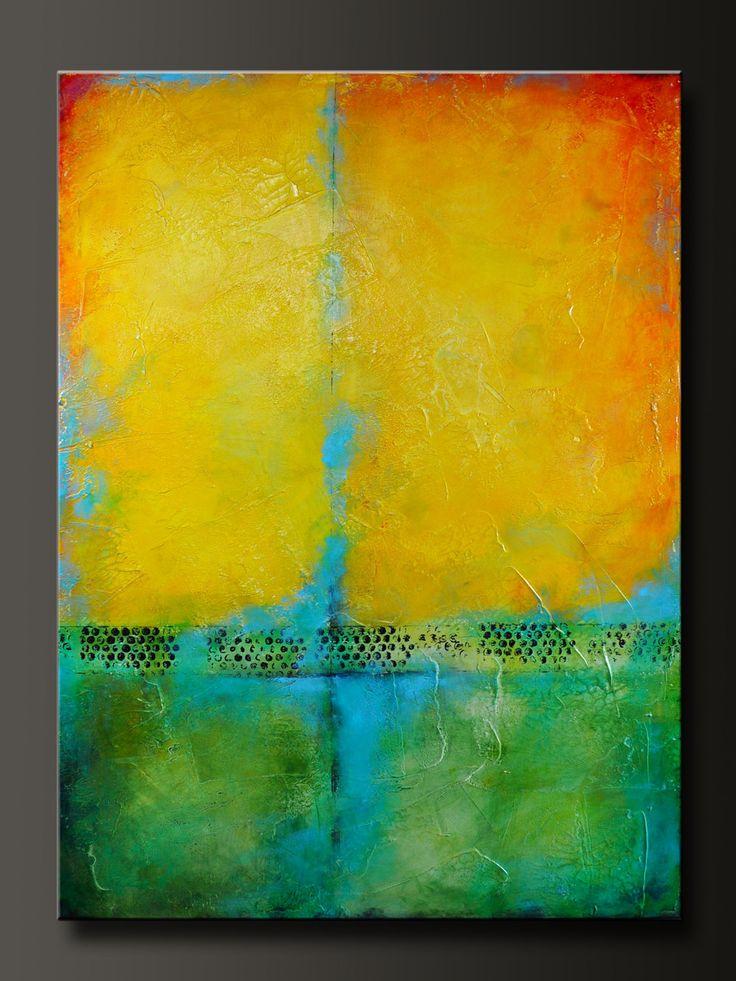 Harmony 30 x 40 Original Abstract Modern Acrylic