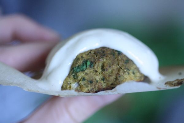 Gluten-free falafel. Love this blog: Twenty-somethings on a tight ...
