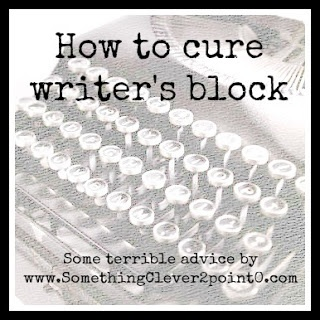 cure writers block essay Every writer ultimately struggles with writer's block how to not overcome writer's block and just for fun, here are some anti-solutions to this problem im only commenting because i am having writers block and i am procrastinating working on my essay lol i didn't follow your.