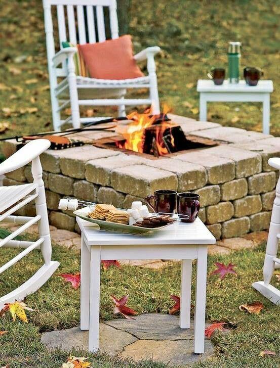 Fire Pit Backyard Diy : Fire Pits