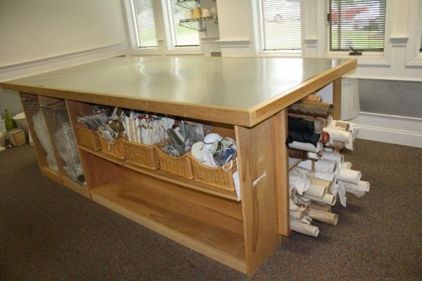 Counter Height Utility Table : Large Craft/Utility Table - This is a large table, counter top height ...