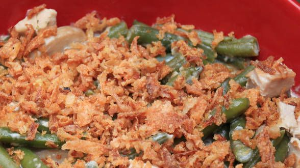 Chicken and Green Bean Casserole | chicken recipes | Pinterest