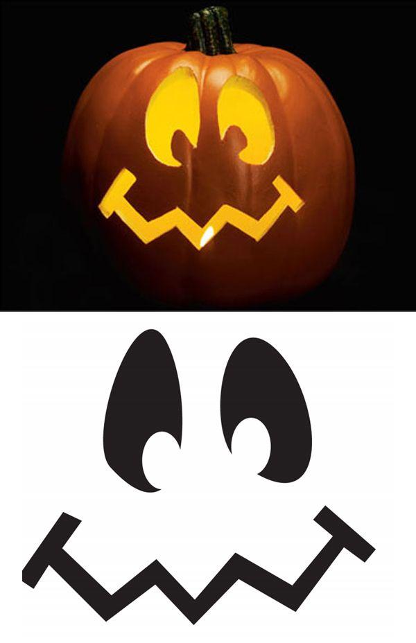 Pumpkin Templates Stencils Holiday Pinterest