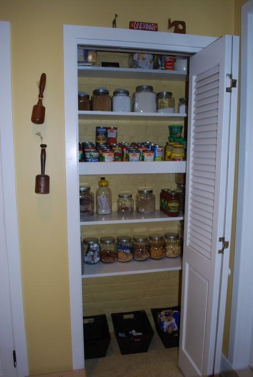 Bi fold Pantry Door Bathroom Pinterest
