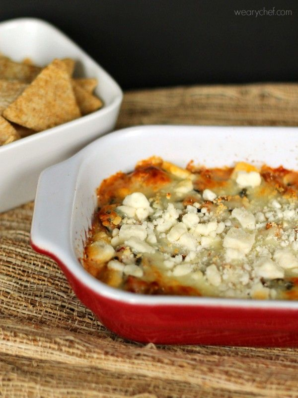 Hearty Hot Spinach Dip: Loaded with ground turkey, spinach, tomatoes ...