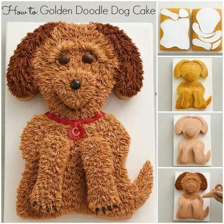 Puppy Dog Cake Cakes Pinterest