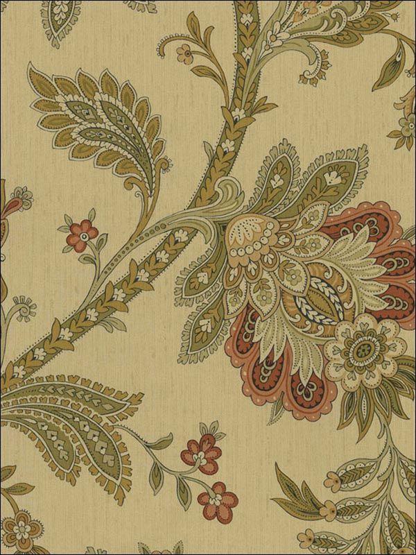 wallpaperstogo.com WTG-077729 NextWall Traditional Wallpaper