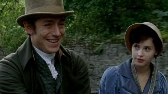 Northanger Abbey. He's just so FREAKING charming and their kiss at the end is just so FREAKING good.
