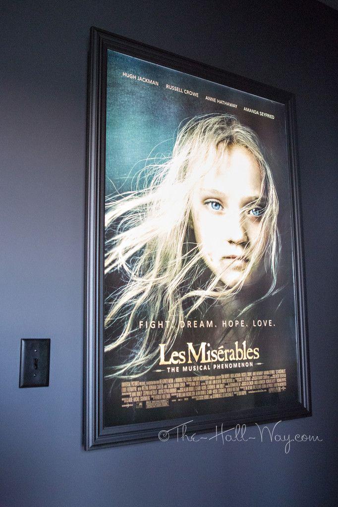 Diy light up poster frame
