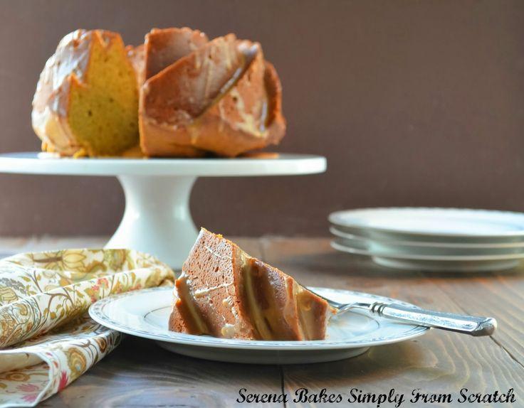 Pumpkin Spice Bundt Cake With Caramel Icing | Recipe