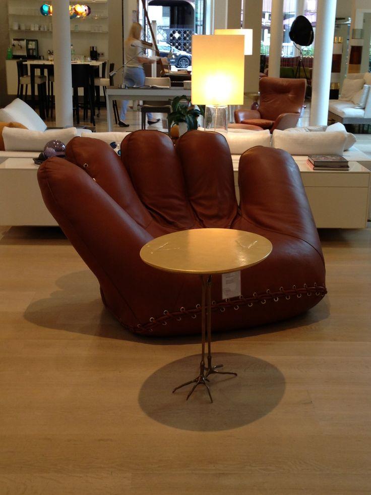 baseball handschuh sessel joe differentes pinterest. Black Bedroom Furniture Sets. Home Design Ideas