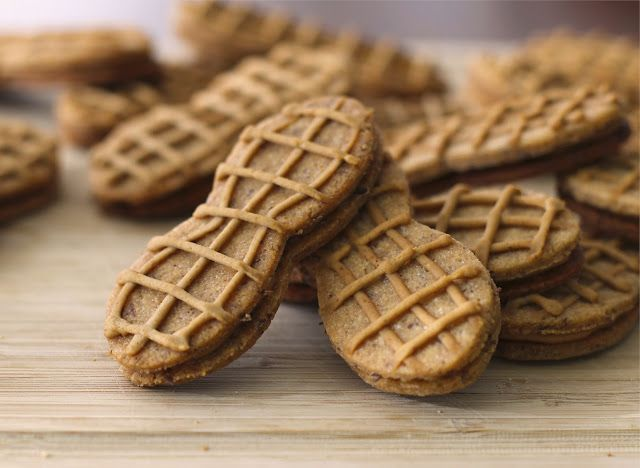Homemade Nutter Butters Because of the brown rice flour these would ...