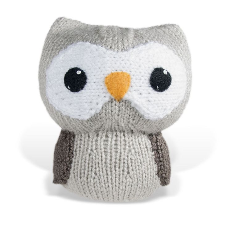 Amigurumi Patterns Owl : Owl Knit Amigurumi Large Pattern