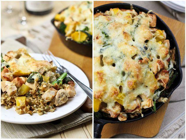 Crispy Rice and Turkey Casserole   Recipe