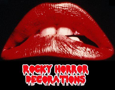 rocky horror party decorations halloween pinterest. Black Bedroom Furniture Sets. Home Design Ideas