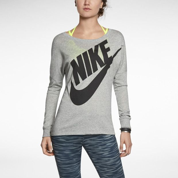 Nike Signal Long Sleeve Women 39 S T Shirt Christmas List