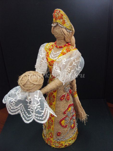 Поделки из джута куклы мастер класс 40