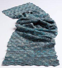 Knit Scarf Pattern Homespun Yarn : Pin by V?ra Ture?kova on Knitting / Pleteni Pinterest