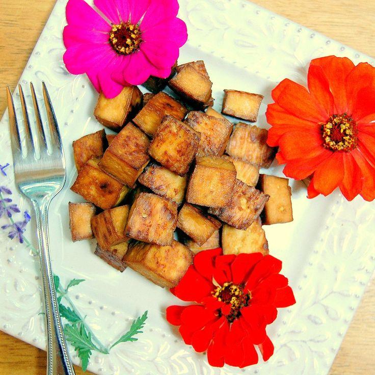 Tofu Stir-Fry With Spinach And Okra Recipe — Dishmaps