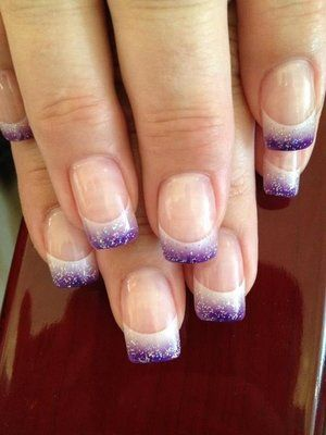 Solar Gel Nails | Nails | Pinterest