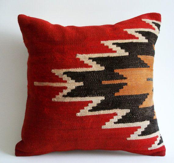 Turkish Throw Pillow Covers : Turkish Kilim Pillow Cover Pillow Talk Pinterest