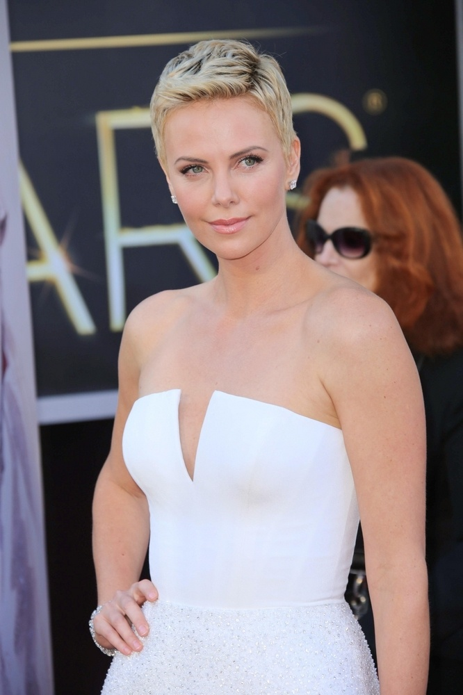 Charlize Theron | 2013 Short Hairstyles | Pinterest
