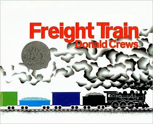 Freight Train. Color wheel, simple shapes.