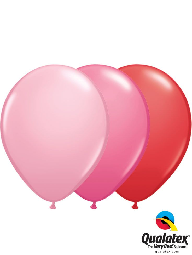 valentine's day latex balloons