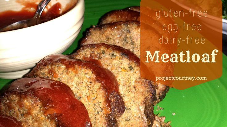 Gluten free meatloaf | nom noms - main dishes | Pinterest