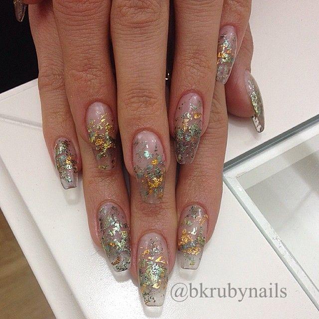 Nice Ballerina Nails Shape Photo - Nail Art Design Ideas ...